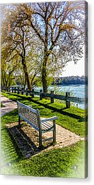 Relaxing Beauty Acrylic Print by Carlos Ruiz