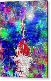 Relaxing Day Acrylic Print by Mimo Krouzian