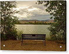 Acrylic Print featuring the photograph Relaxing View by James BO Insogna