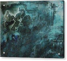 Releasing Aurora Acrylic Print by Emily Magone