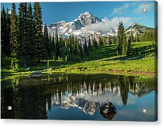 Relected Image Acrylic Print