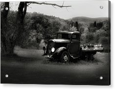 Acrylic Print featuring the photograph Relic Truck by Bill Wakeley