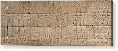 Relief From The Temple Of Dendur Acrylic Print