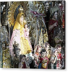 Religious Statuettes For Sale Acrylic Print by Skip Nall