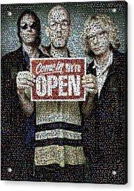Rem Mosaic Acrylic Print