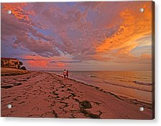 Acrylic Print featuring the photograph Remains Of The Day by HH Photography of Florida