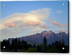 The Remarkables Acrylic Print