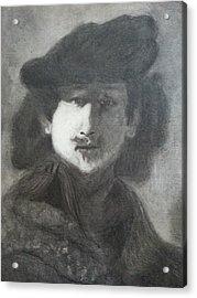 Rembrandt Acrylic Print