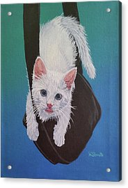 Rembrandt Justa Swingin Acrylic Print by Wendy Shoults