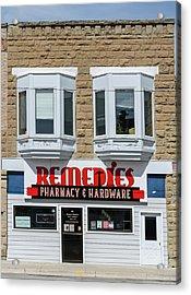 Remedies Acrylic Print