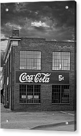 Remember 5 Cents Acrylic Print by Tim Wilson