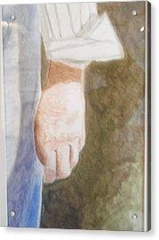 Remember Acrylic Print by Robby  Entrekin