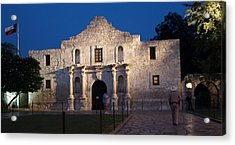Remember The Alamo Acrylic Print by Dennis Stein