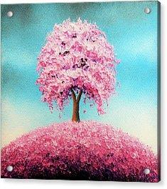 Remember The Bloom Acrylic Print by Rachel Bingaman