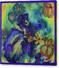 Remember The Flowers Acrylic Print