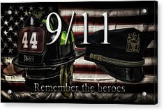 Remember The Heroes Acrylic Print