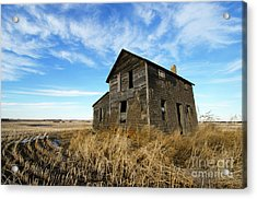 Remember The Past Work For The Future 2 Acrylic Print by Bob Christopher