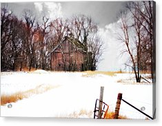 Acrylic Print featuring the photograph Remember When by Julie Hamilton