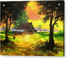 Remember  When Acrylic Print by Shasta Eone