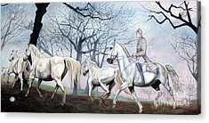 Remembering Days Of Grandeur Acrylic Print