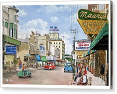 Remembering Duval St. Acrylic Print