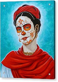 Remembering Frida Acrylic Print