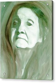 Acrylic Print featuring the painting Remembering by FeatherStone Studio Julie A Miller