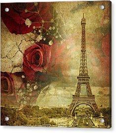 Remembering Paris Acrylic Print