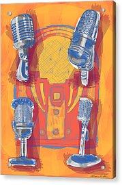 Remembering Radio Acrylic Print