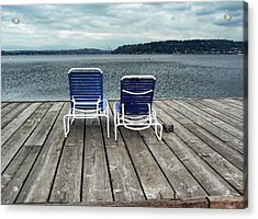 Remembering Summer. Acrylic Print by Anastasia Michaels