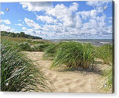 Remembering Summer Beach Scenes Acrylic Print
