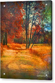 Remembering The Places I Have Been Acrylic Print