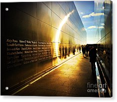 Remembrance At Empty Sky Acrylic Print