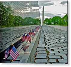 Remembrance Of Patriotism Acrylic Print
