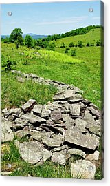 Remnants Of Camp Allegheny Acrylic Print by Thomas R Fletcher
