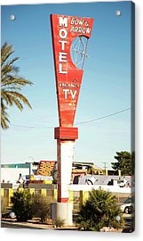 Remnants Of Vintage Vegas Acrylic Print