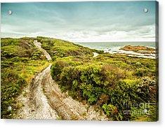 Remote Australia Beach Trail Acrylic Print