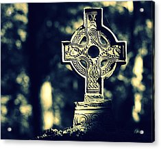 Renaissance Cross Acrylic Print by Joseph Skompski
