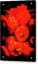 Renaissance Red Peppers Acrylic Print
