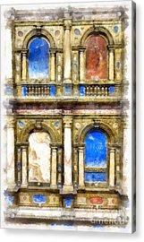 Renaissance Treasures Acrylic Print by Edward Fielding