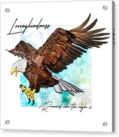 Renewed Like The Eagle's Acrylic Print