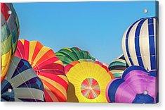 Reno Balloon Races Acrylic Print by Bill Gallagher