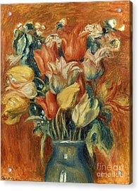 Renoir: Bouquet Of Tulips Acrylic Print by Granger