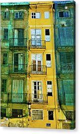 Acrylic Print featuring the photograph Renovation  by Harry Spitz