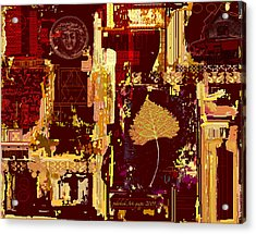 Renovation Acrylic Print by Pederbeck Arte Gruppe