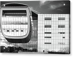 Rensselaer Polytechnic Institute Empac Acrylic Print by University Icons