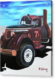 Reo Speedwagon Acrylic Print by Dean Glorso