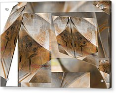 Reorganize Acrylic Print