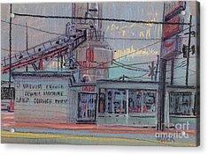 Repair Shop Acrylic Print by Donald Maier