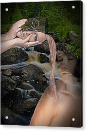 Replenishment Of Mother Nature Acrylic Print by Sean Holmquist